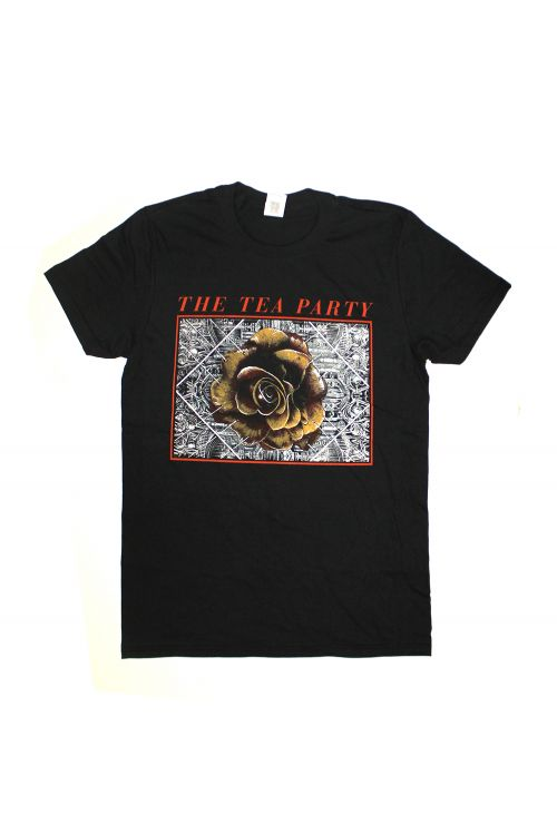 Rose Black Tshirt by The Tea Party