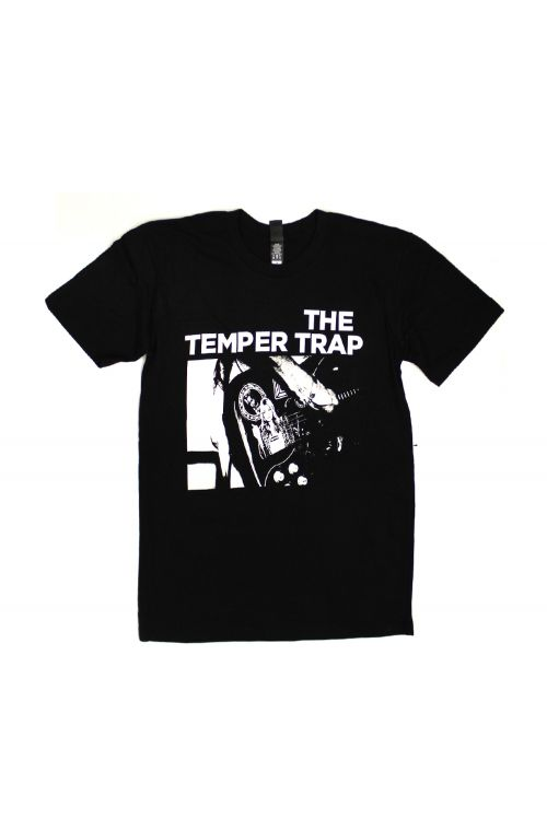 Guitar Black Tshirt by Temper Trap