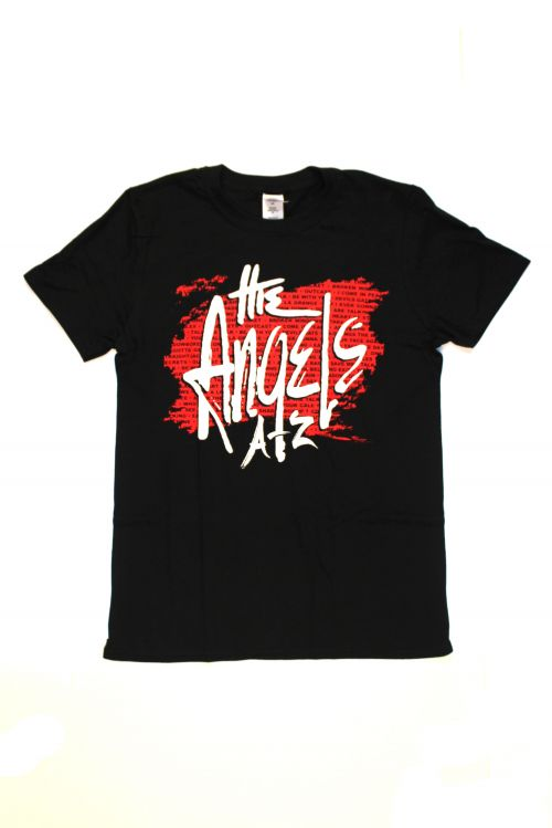 A-Z Tour Version 2.0 Black Tour Tshirt  by The Angels