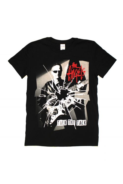 Talk The Talk Black Tour Tshirt by The Angels