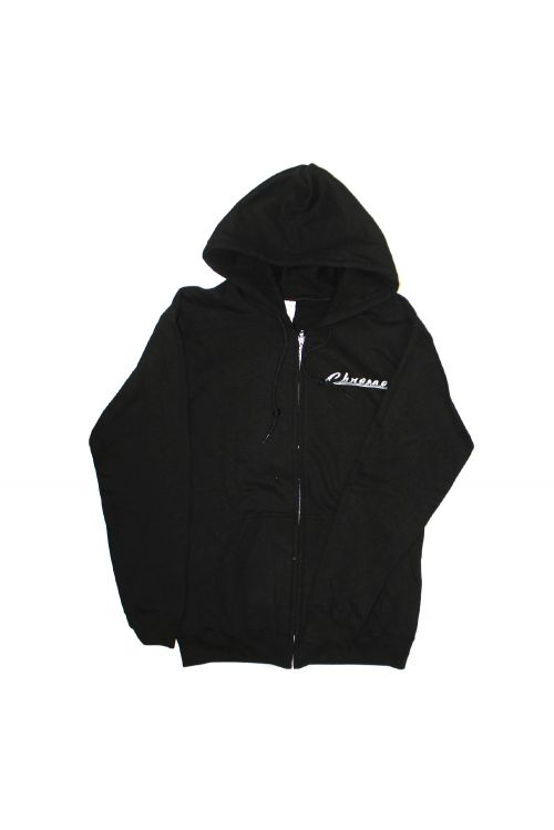 Chrome Black Zip Up Hood by The Screaming Jets