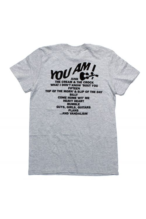 No 4 Record Grey Tshirt by You Am I