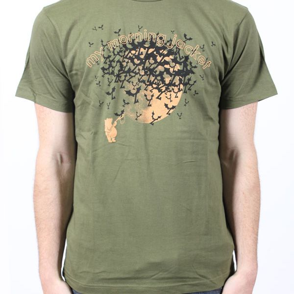 Bears & Bats Jungle Green Tshirt