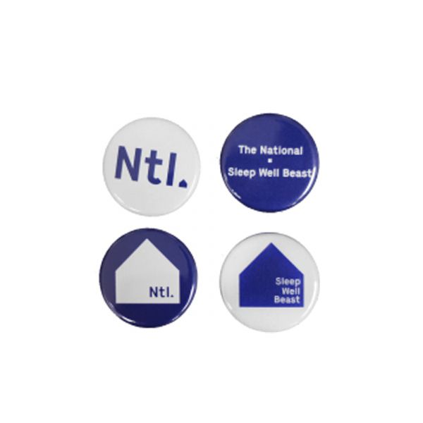 Badge Set of 4