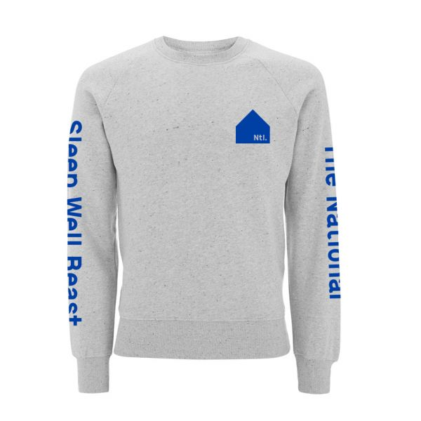 System 1 Grey Crewneck Jumper