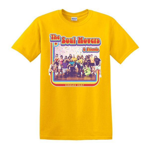 Circle Baby Yellow Tshirt