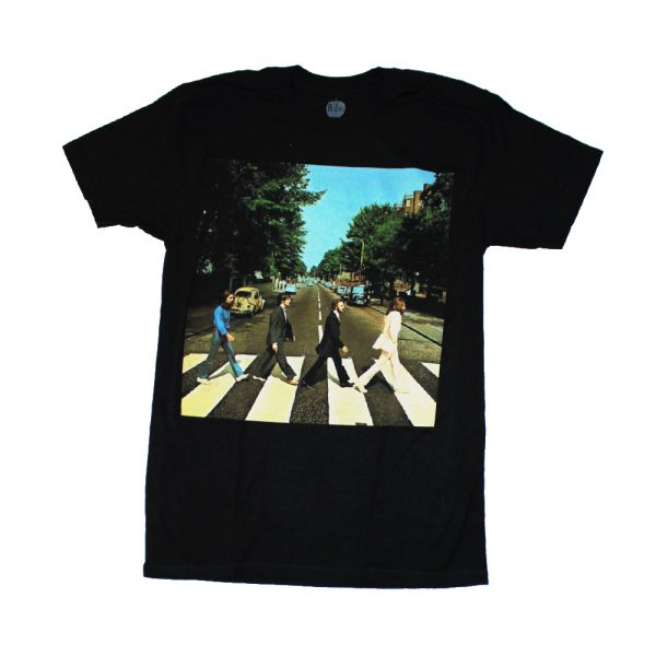 Abbey Road Brick Photo Black Tshirt