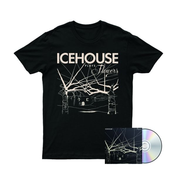 Icehouse Plays Flowers Tshirt/CD