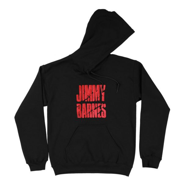 Jimmy Barnes Hoodie (Red Logo Embroidery)