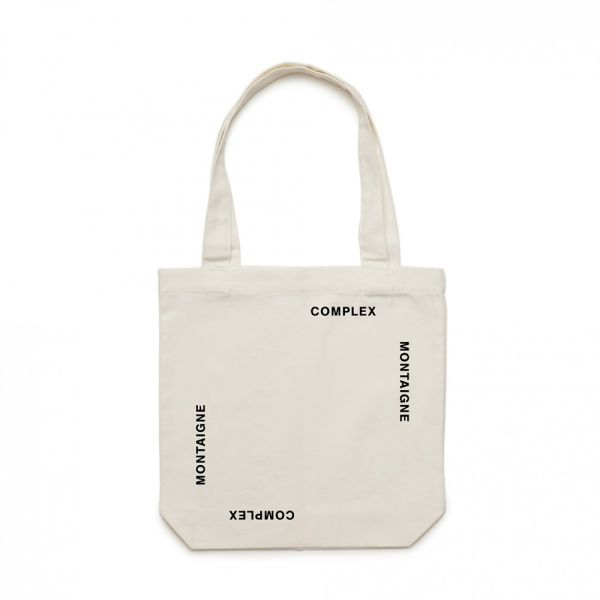 Tote Bag Complex White