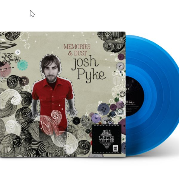 Memories and Dust LIMITED EDITION Translucent Blue Vinyl