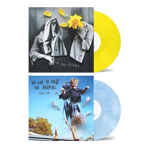 "No Way To Treat An Animal (EP) 10"" Vinyl (V2 Blue/White)+ In The Slight (EP) 10"" Vinyl (V2 Yellow)"