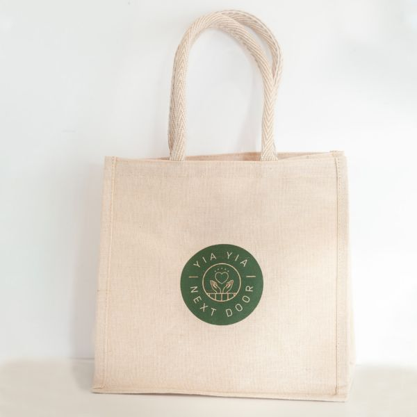 Tote Bag | Eco Jute Natural