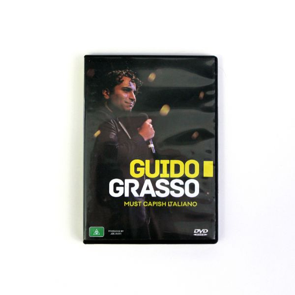 Guido Grasso - Must Capish Italiano DVD