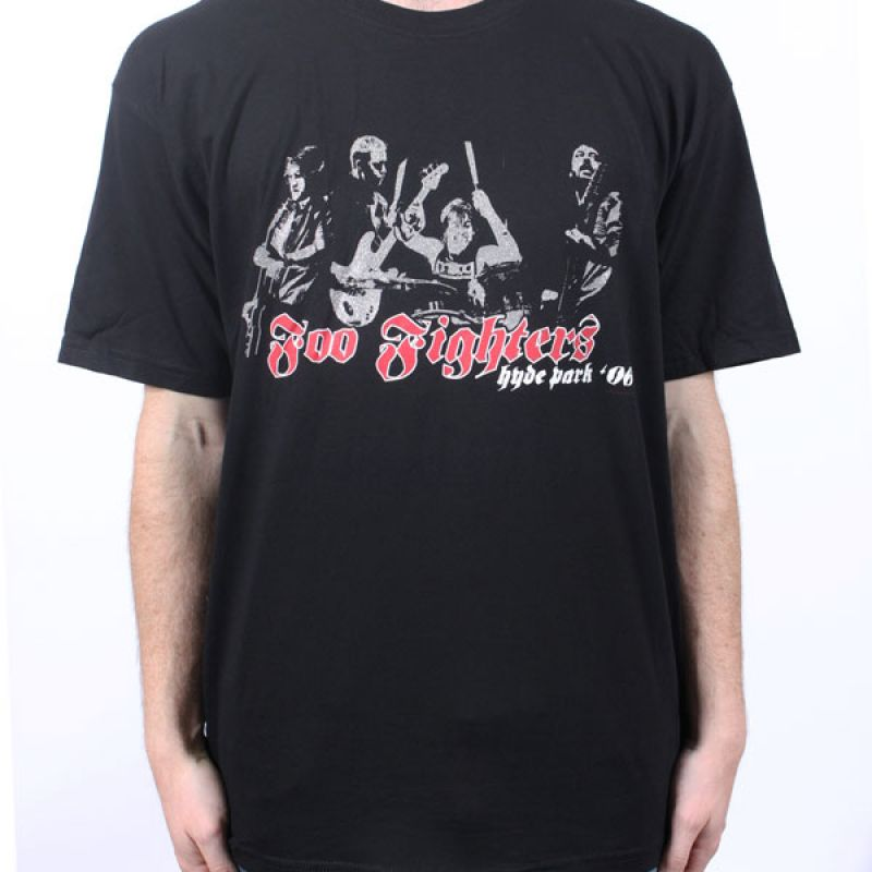 06feb146 Foo Fighters Sonic Highway Blue Tshirt. $35 $17.50 · Hyde Park black event  tshirt