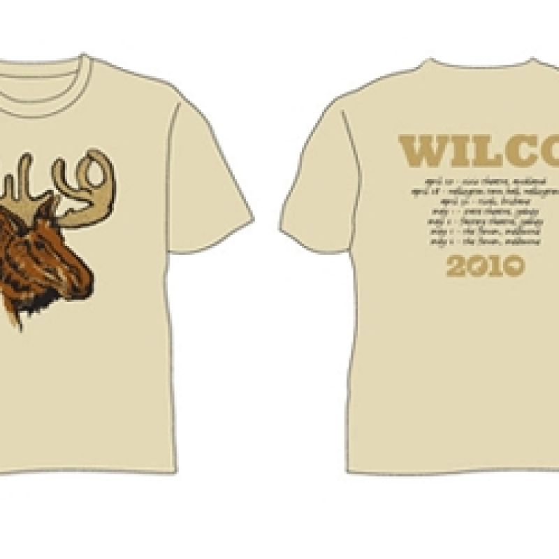 Moose Tan Tshirt 2010 Tour