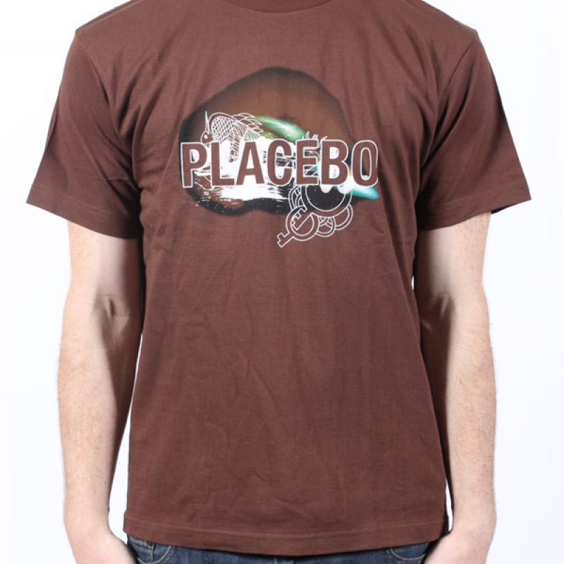 Placebo Space Brown Tshirt
