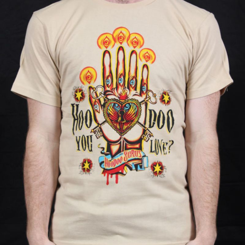Hoodoo You Love Tan Tshirt
