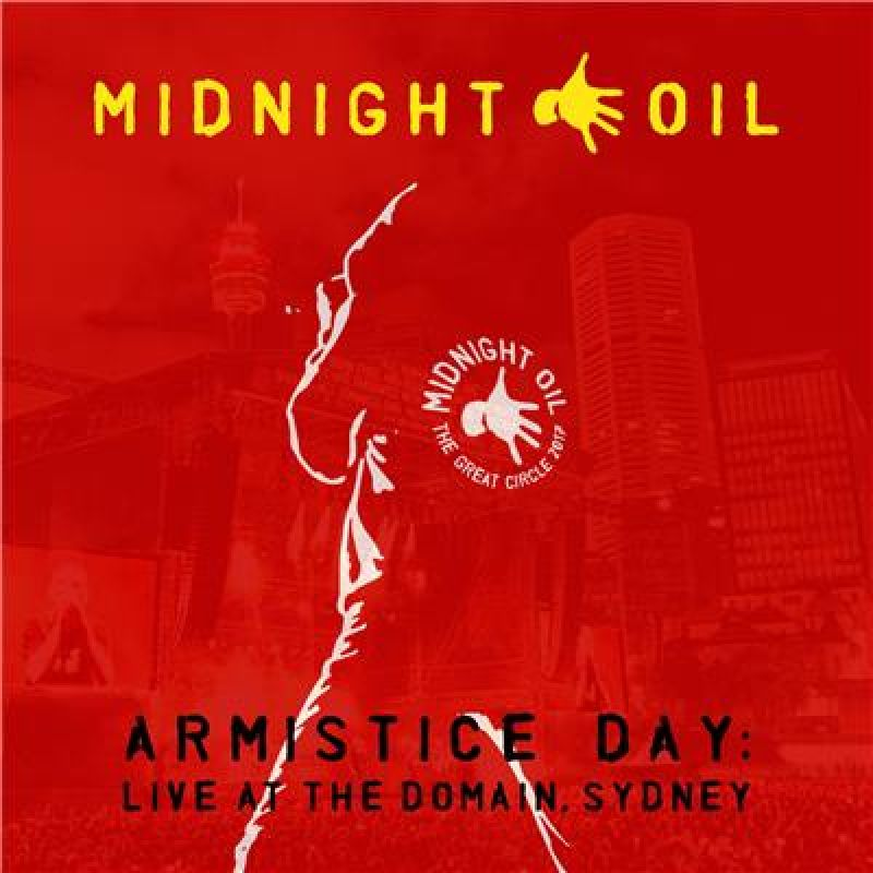 Armistice Day: Live At The Domain, Sydney CD