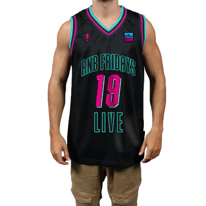 2019 Basketball Jersey Black