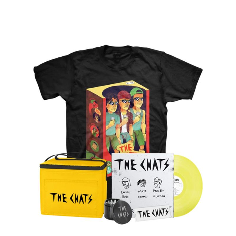 High Risk Behavior Deluxe Bundle - Limited Edition 'Piss' Vinyl - Toys T-Shirt,Grinder, Rolling Papers, Cooler bag
