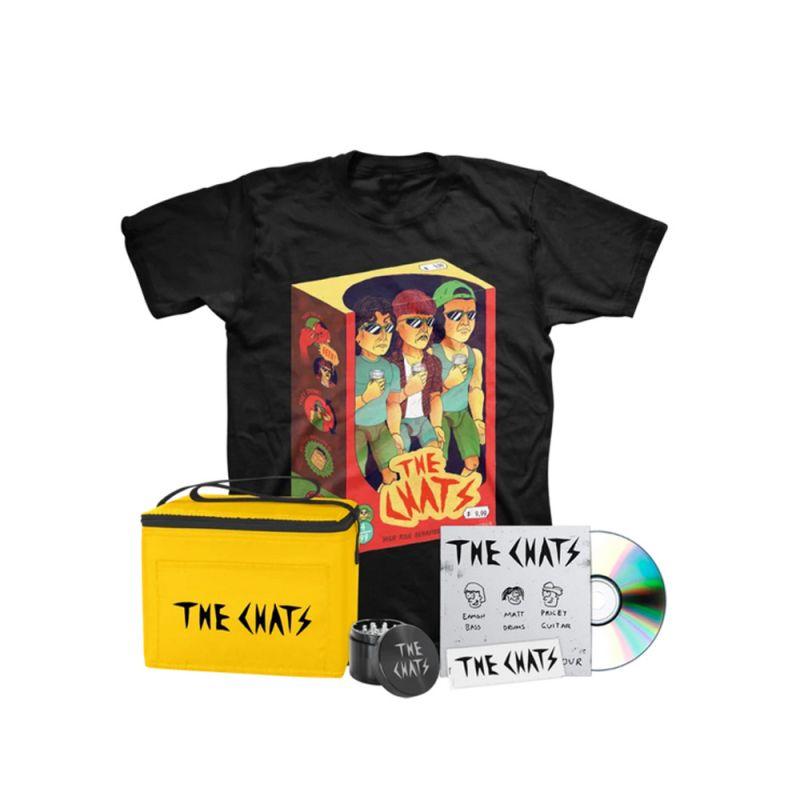 High Risk Behavior Deluxe Bundle - CD - Toys T-Shirt, Grinder, Rolling Papers, Cooler bag