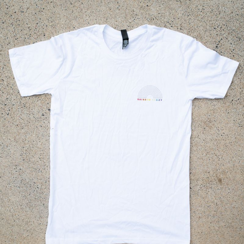 Rainbow Valley Tour White Tshirt