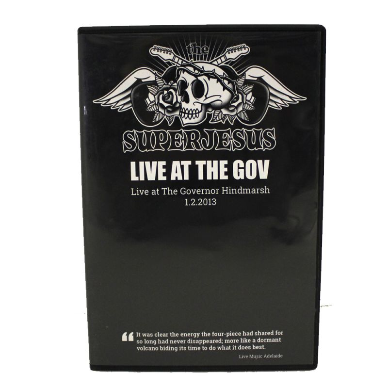 Live At The Gov DVD