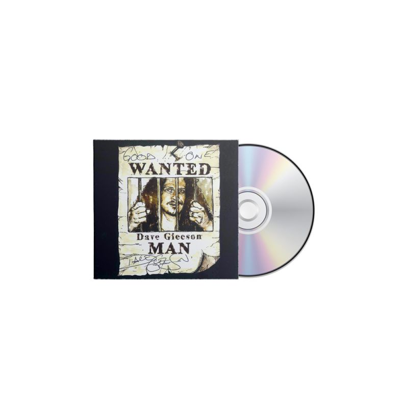 Wanted Man CD - Dave Gleeson (Signed Copies)