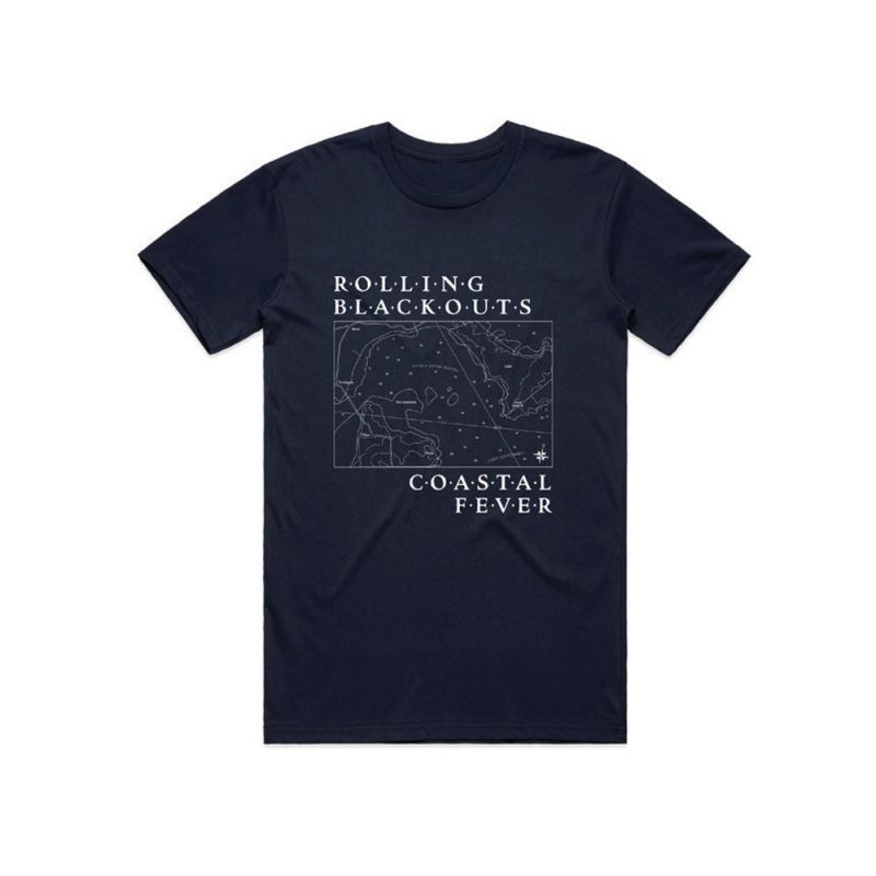 Map Navy Tshirt