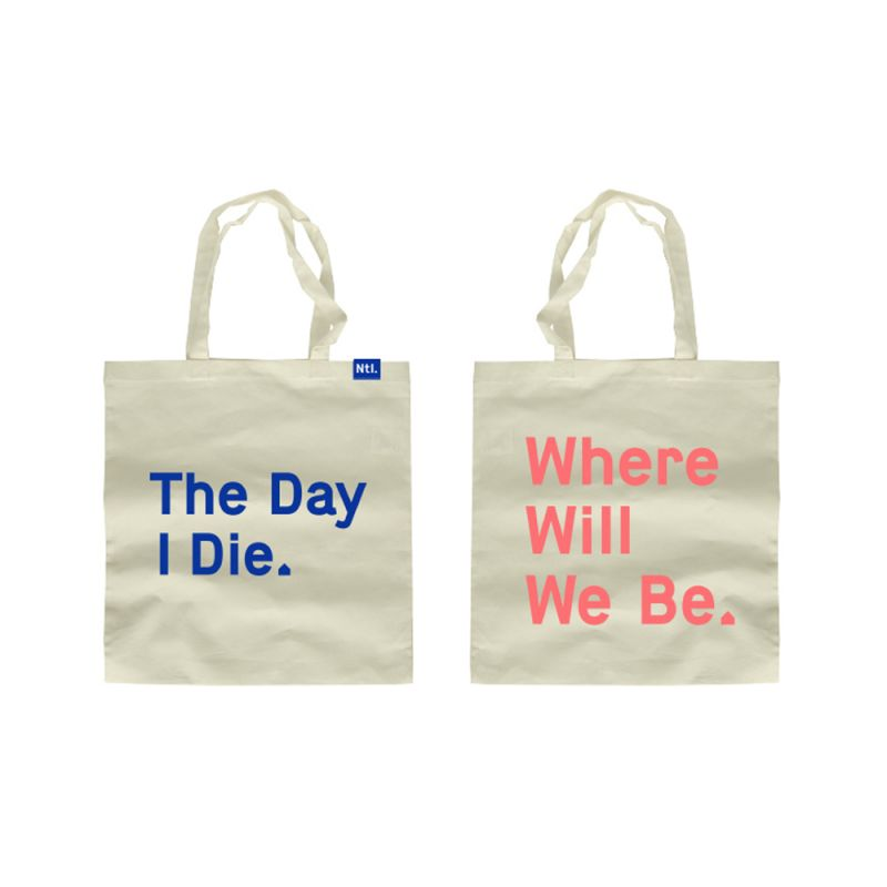 The Day I Die Tote Bag