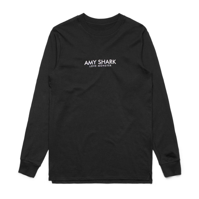 Longsleeve Love Monster Black Tshirt