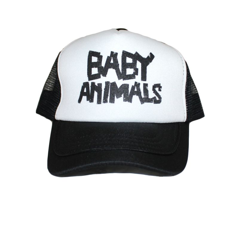 Trucker Cap Baby Animals Tape Logo