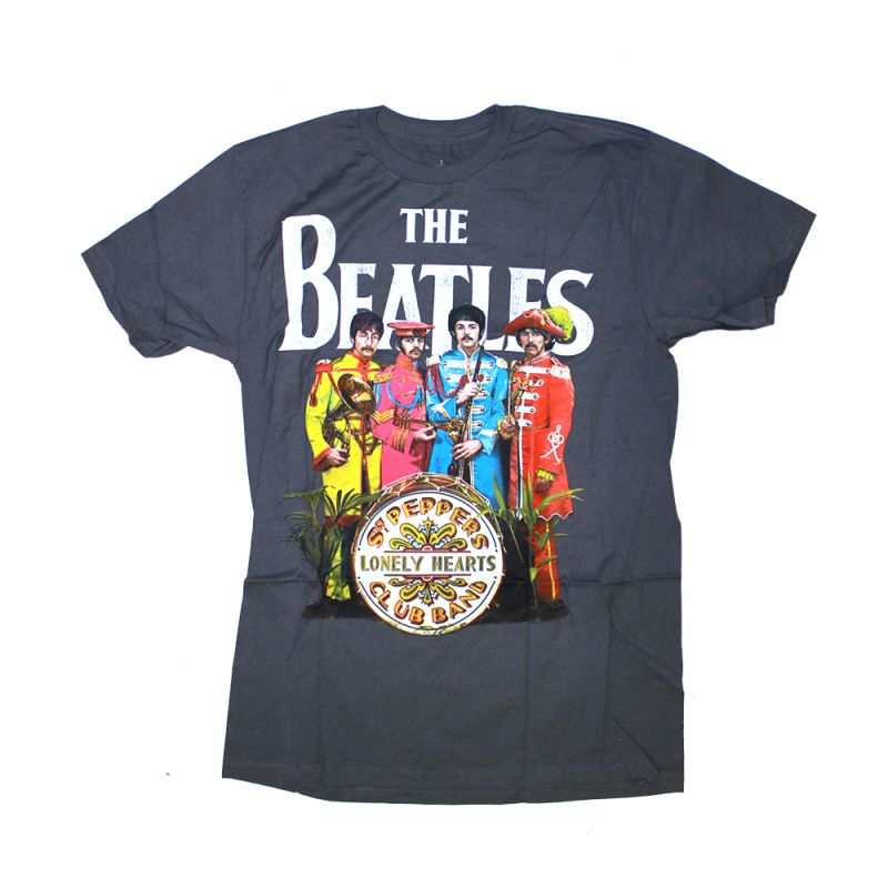 Sgt Pepper Charcoal Tshirt