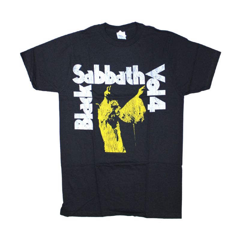 Black Sabbath Volume 4 Black Tshirt