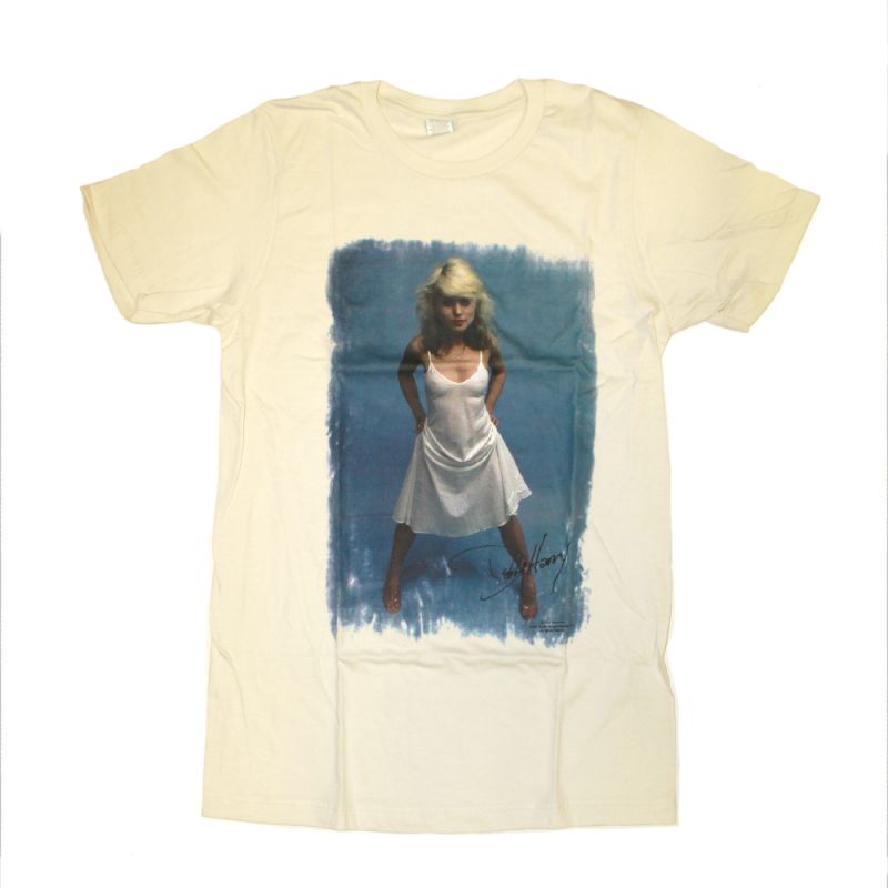 Debbie Harry White Dress