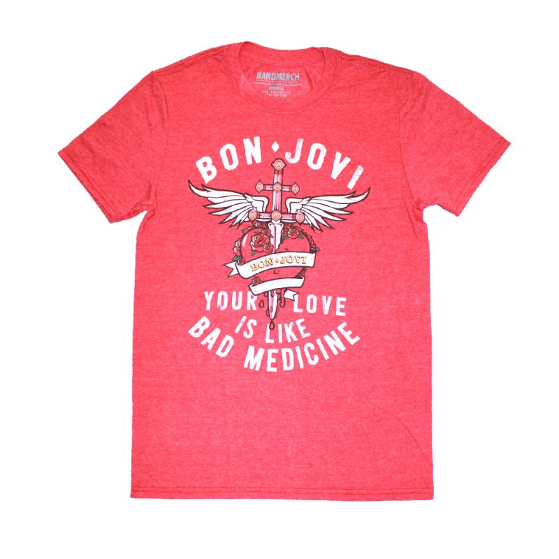 Bad Medicine Red Tshirt