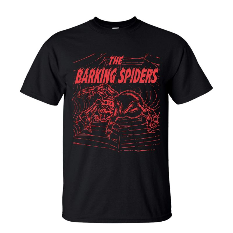 Barking Spiders Black Tshirt