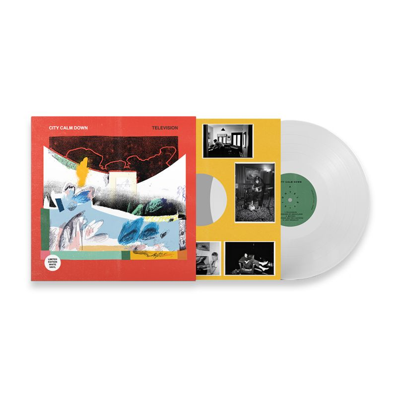 "Television LP 12"" (LIMITED EDITION Signed White Vinyl) - Pre Order"