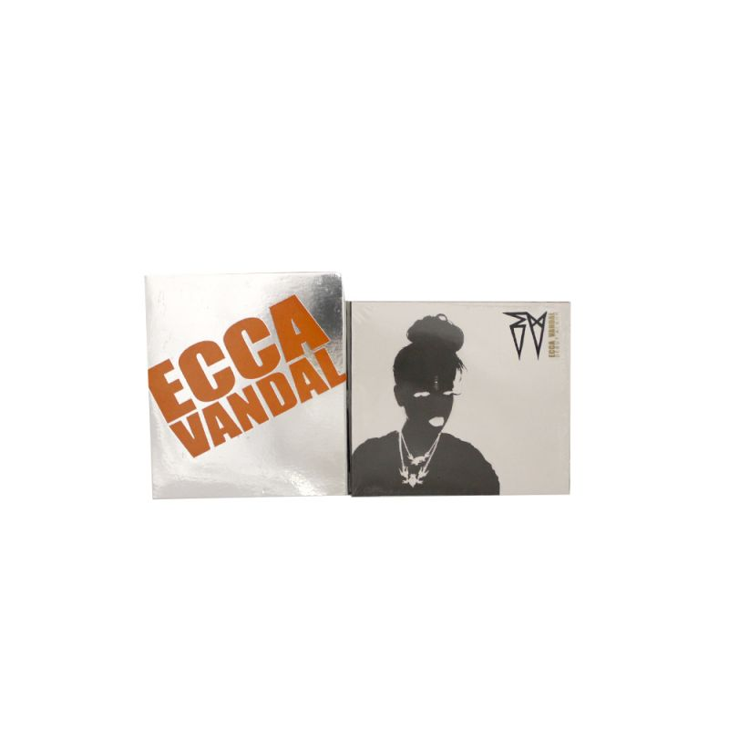 Ecca Vandal CD (Limited Edition  Orange/Silver Mirror Slipcase)