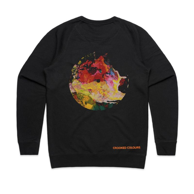 Langata Album Cover Black Sweatshirt
