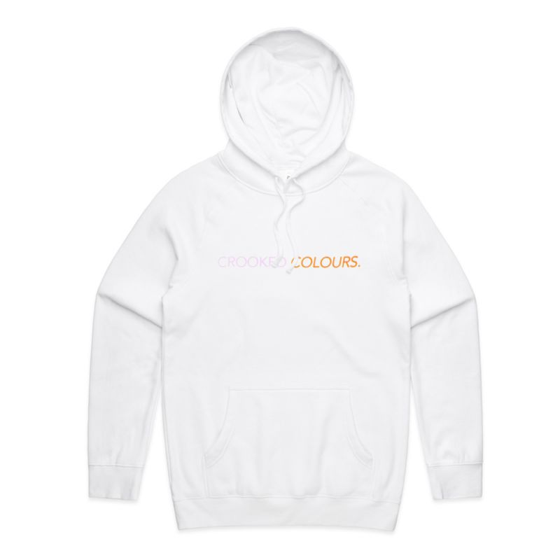 Two Tone White Hoody