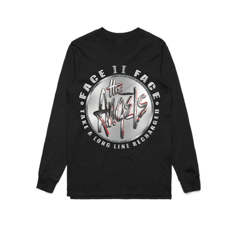 Chrome Charged Longsleeve Black Tshirt