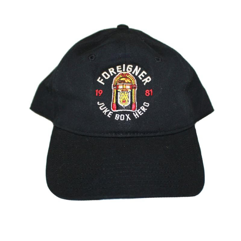 Juke Box Hero Black Dad Cap