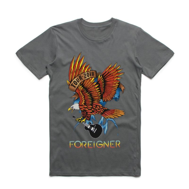 Eagle Charcoal Tshirt