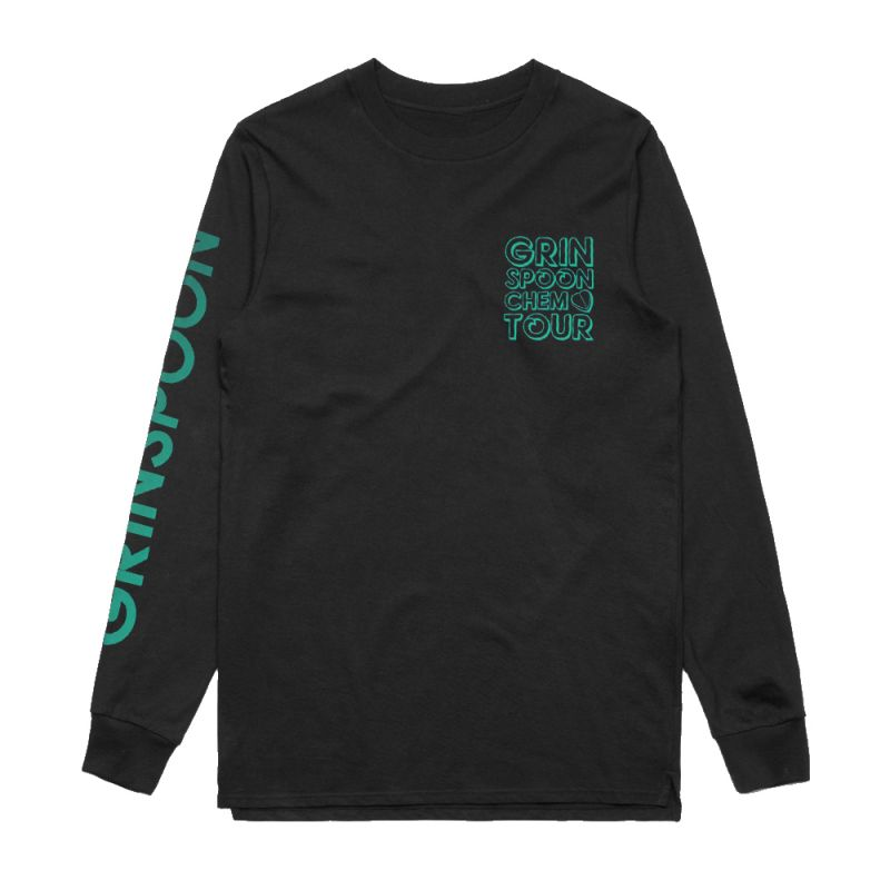 Block Up Black Longsleeve Tshirt