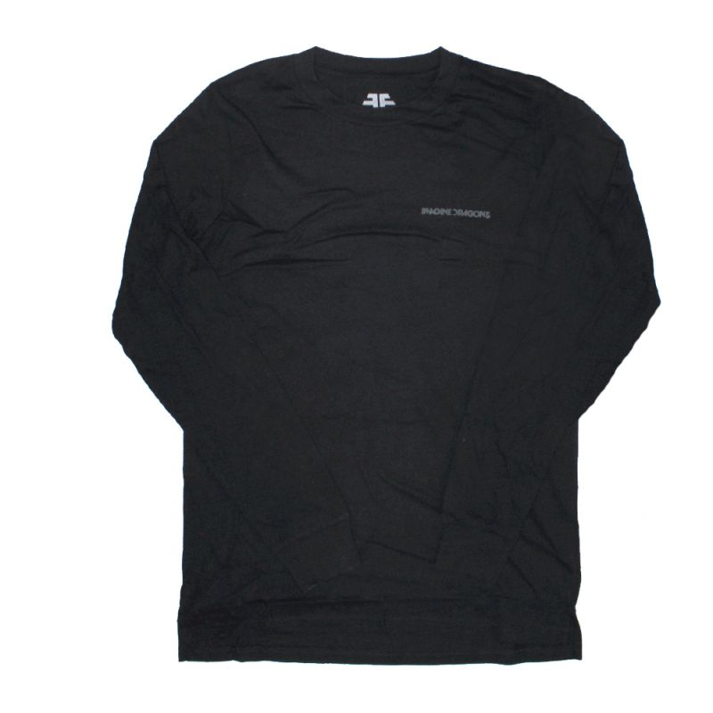 Triangle Black Longsleeve Tshirt