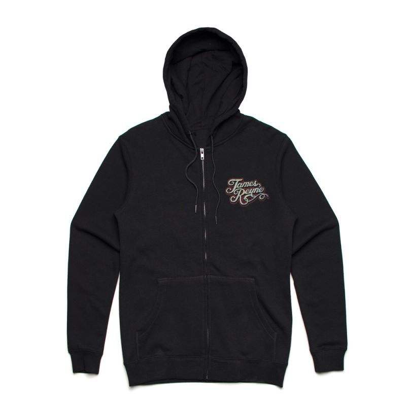 Nose Rider Black Zip Hoody