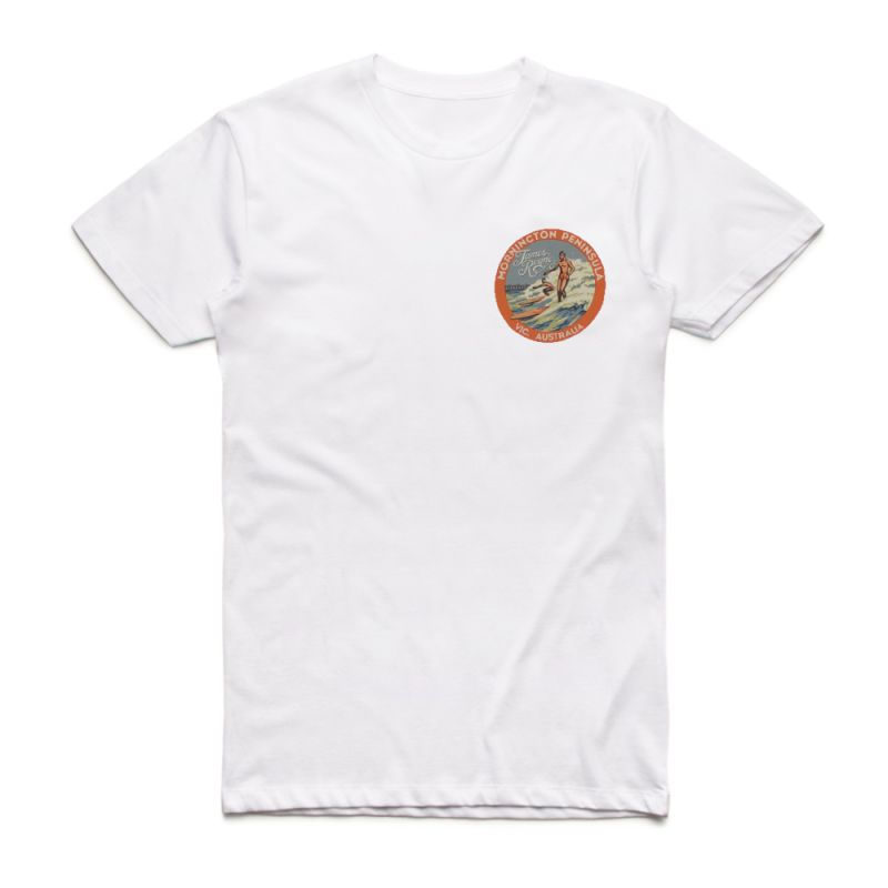 Mornington White Unisex Tshirt
