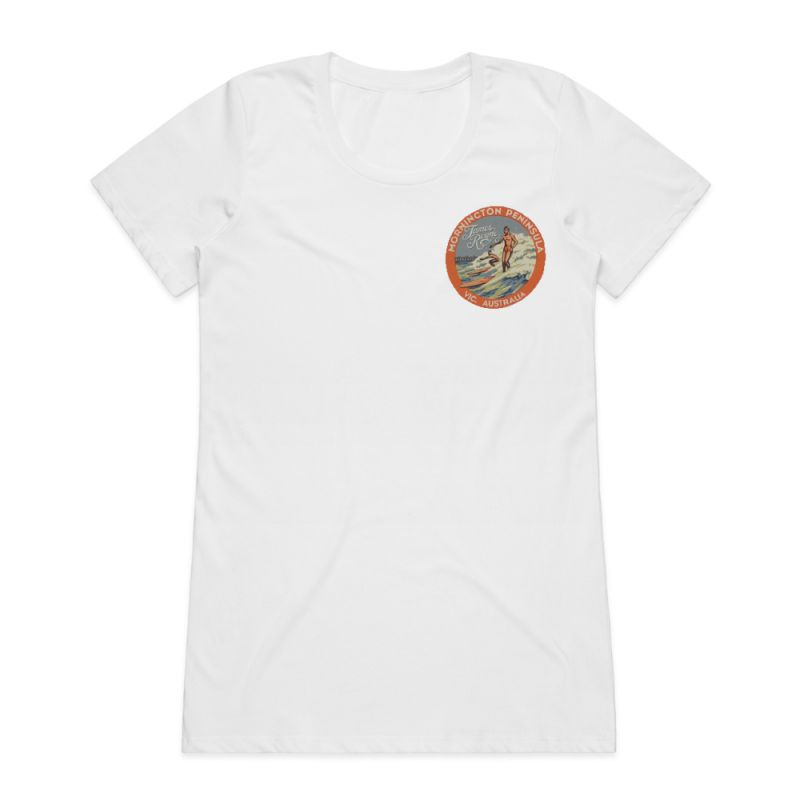 Mornington White Ladies Tshirt